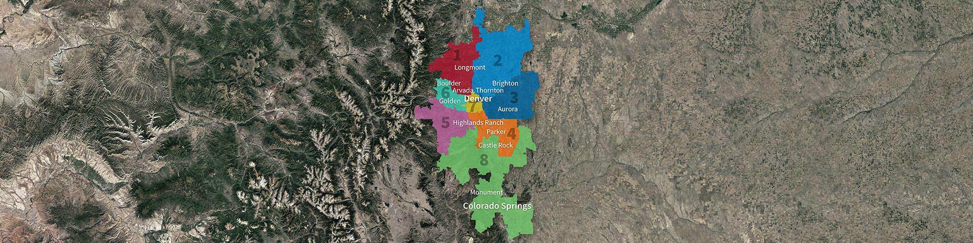 Team Dave Logan Map