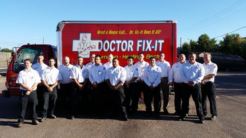 Doctor Fix It Plumbing Team Dave Logan